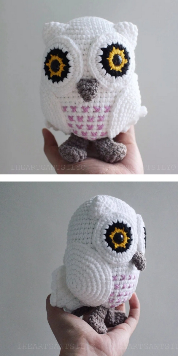 Free Crochet Pattern: Cute Amigurumi Owls Harry Potter