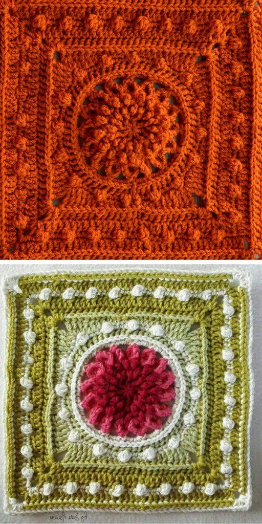 Cheerful Echinacea Free Crochet Pattern