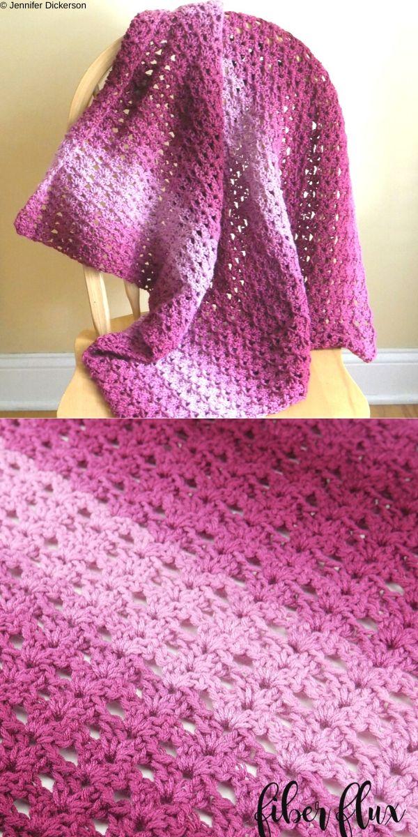 Briar Rose Blanket Free Crochet Pattern