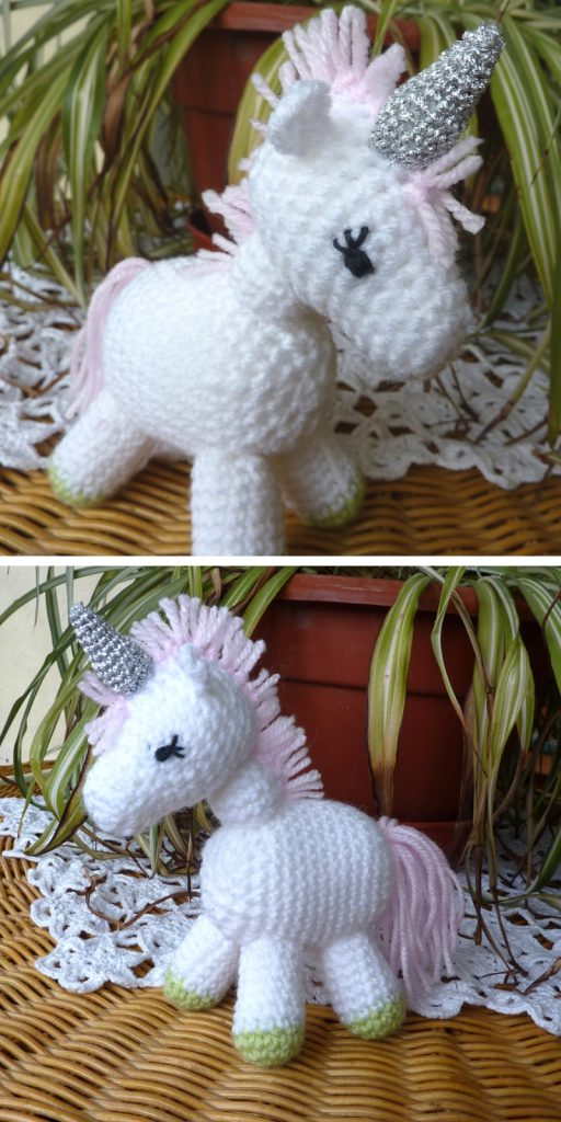 Charley the unicorn crochet pattern