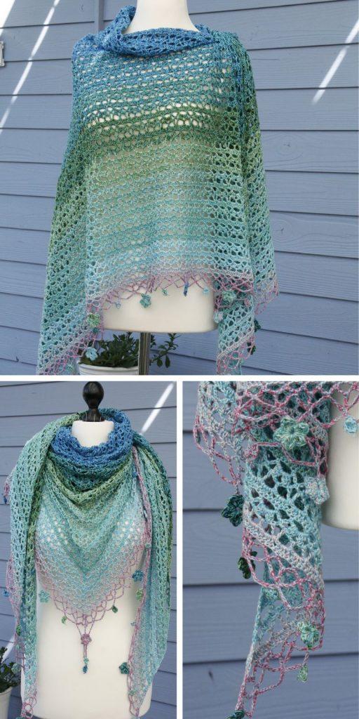 Jardin de Monet Free Crochet Pattern