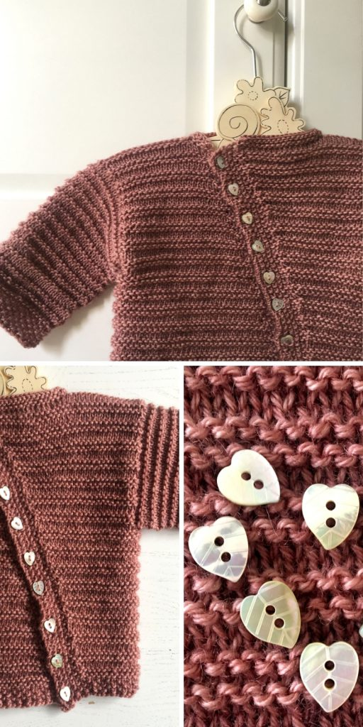 Little Heartwarmer Cardigan Free Knitting Pattern