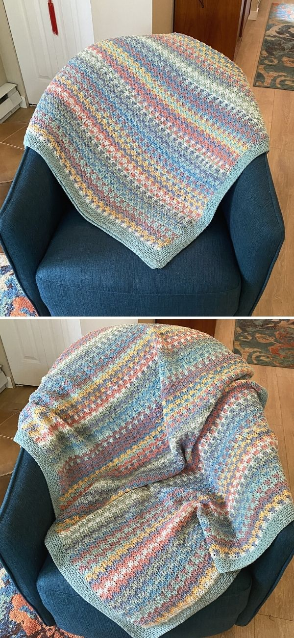 Snuggle Stitch throw 2