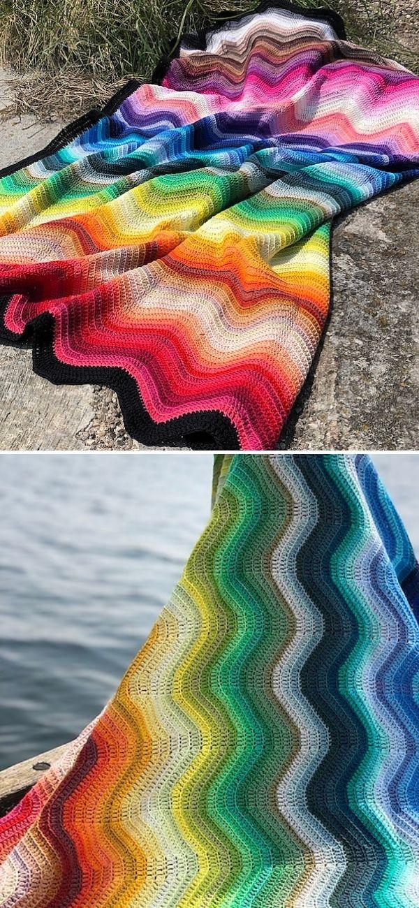 Wacky Wave Blanket