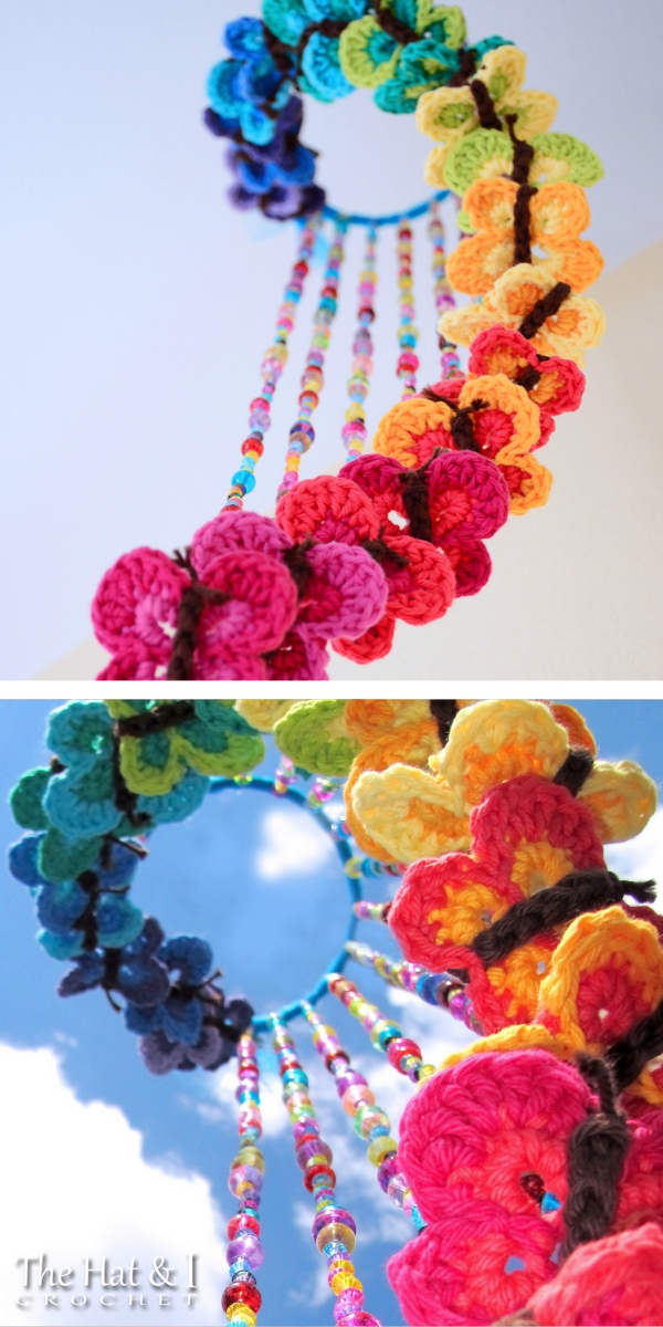 Bountiful Butterflies Free Crochet Pattern