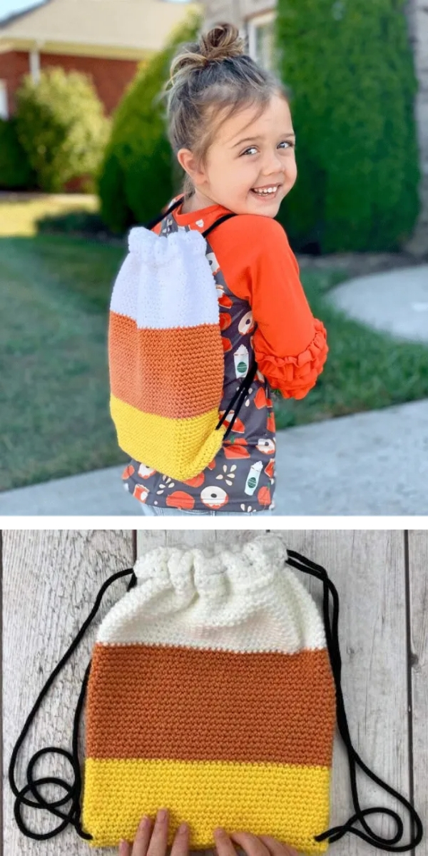 free crochet pattern: Cute Backpacks For Your Children