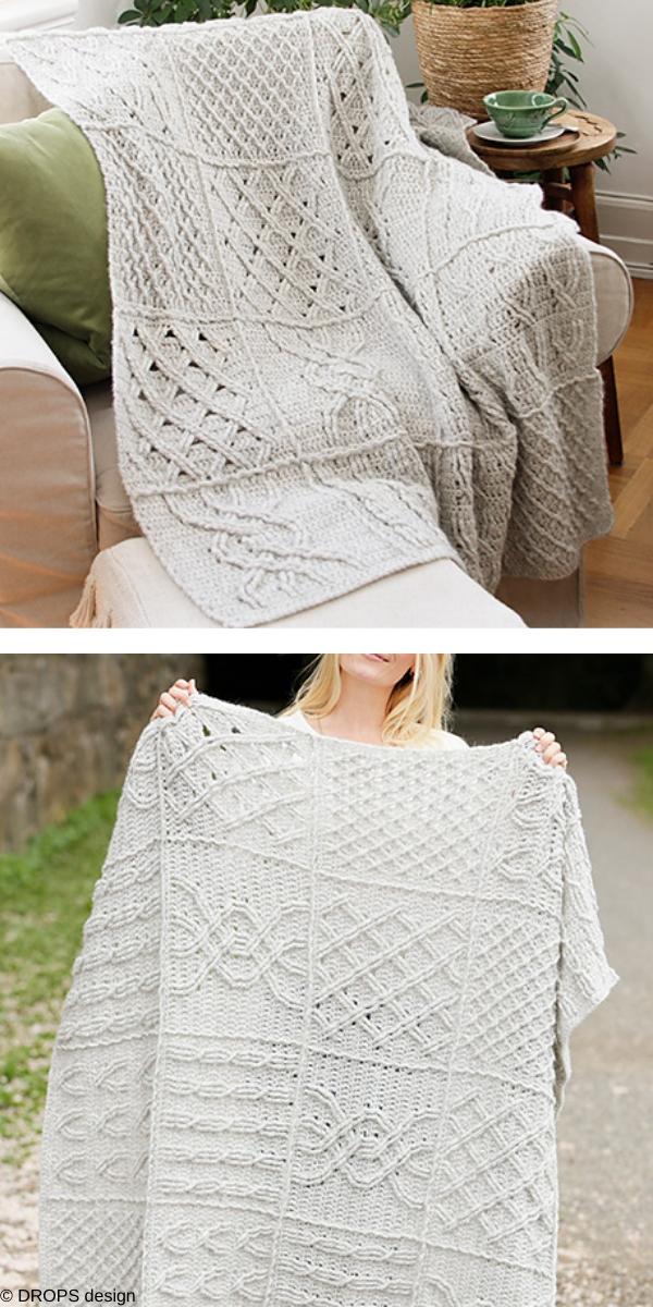 Celtic Comfort Free Crochet Pattern