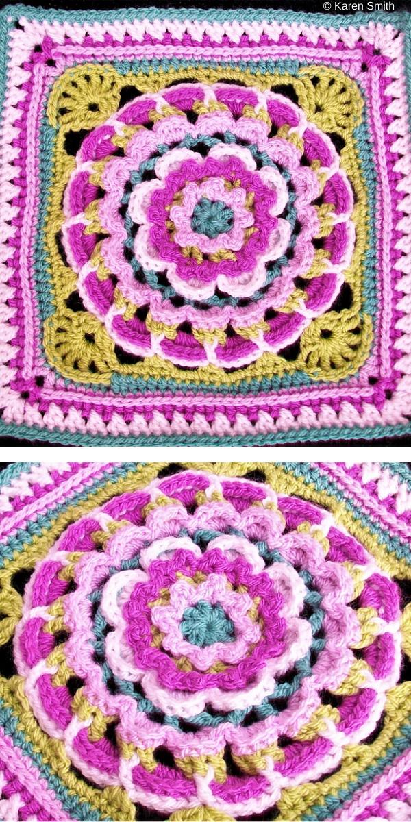 Dream Catcher free crochet pattern