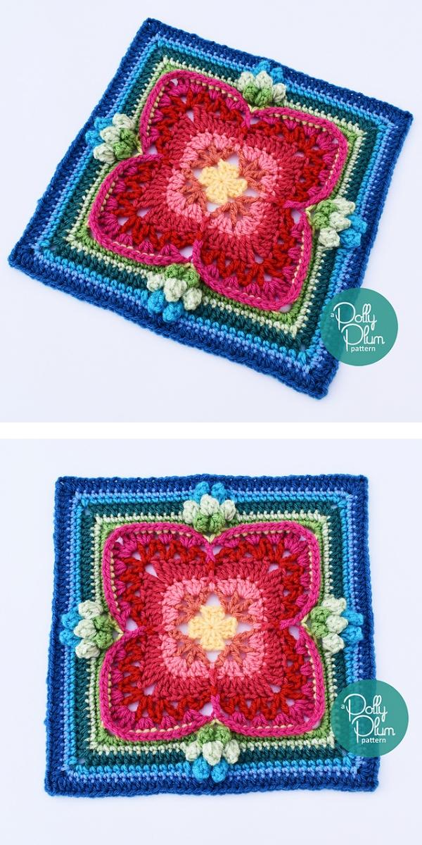 Maybellene Square free crochet pattern