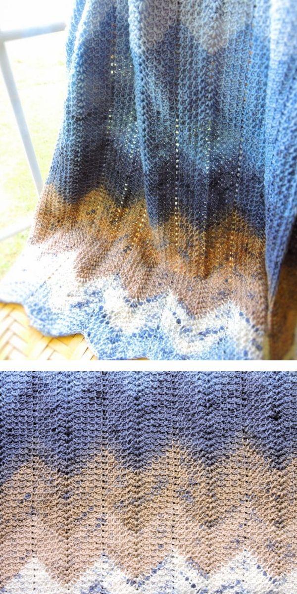 free crochet pattern: Autumn Cozy Blankets