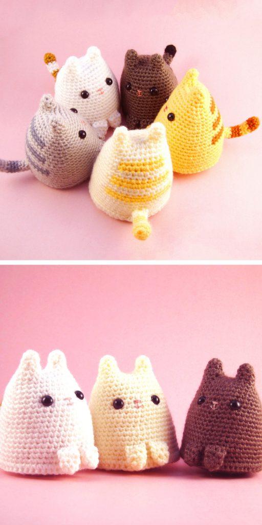Dumpling Kitty Free Crochet Pattern
