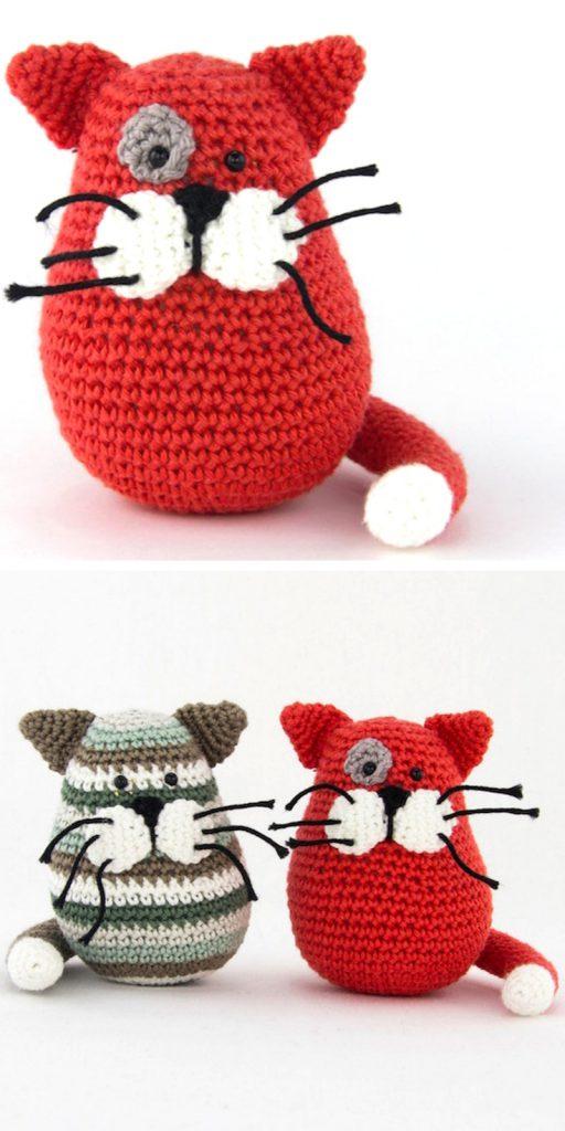 Crochet Pattern Kitten Kruimel