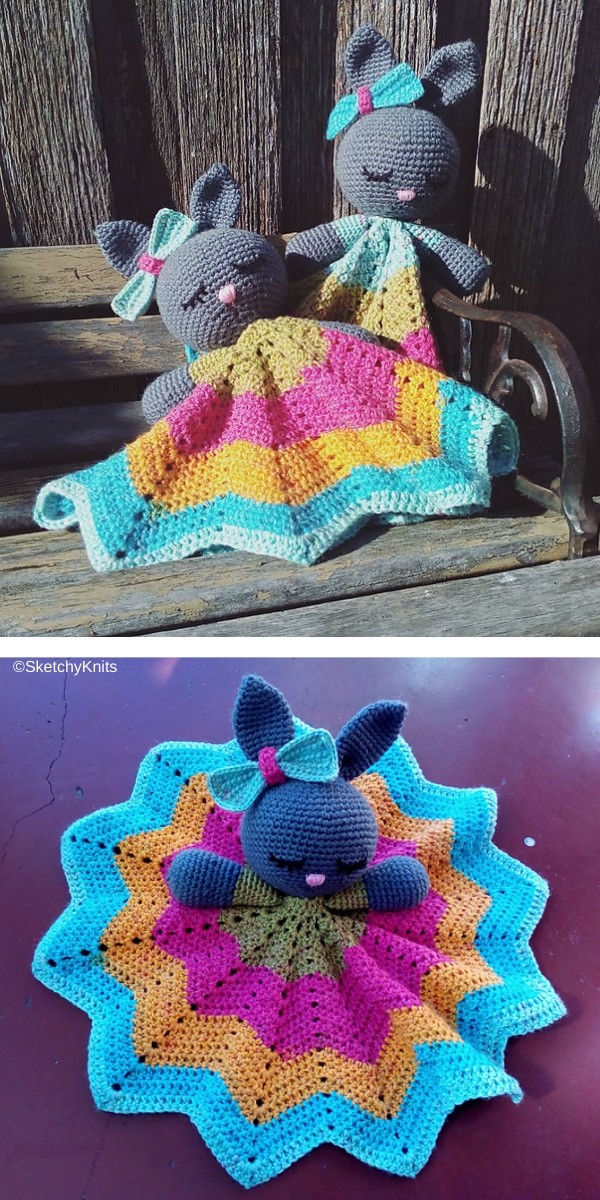 Bunny Lovey Parts & Pieces Free Crochet Pattern