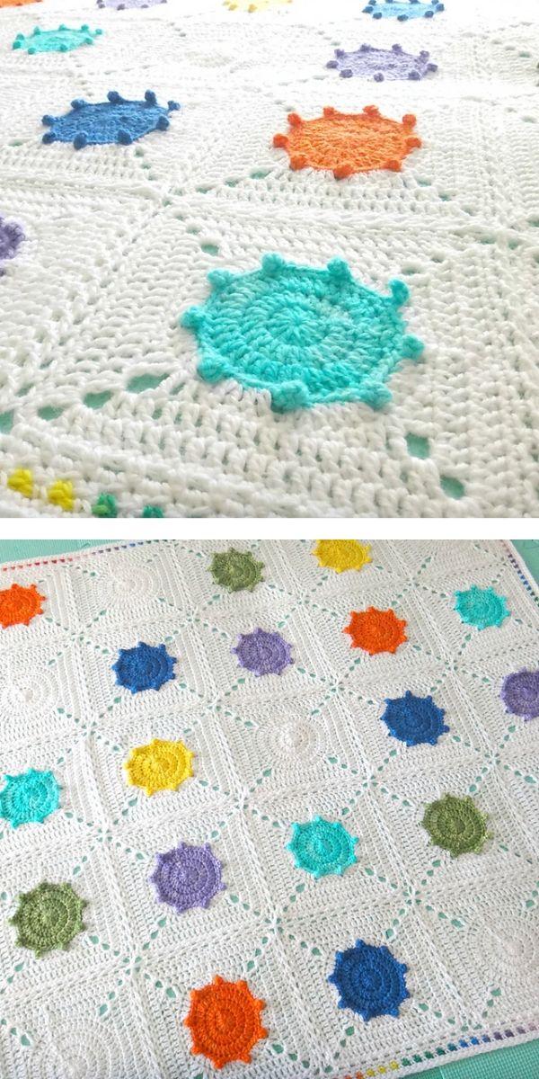 free crochet pattern: Adorable Blankets