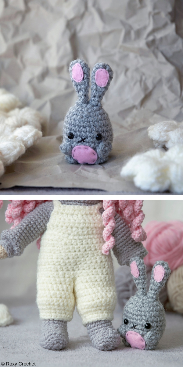 Mini Bunny free crochet pattern