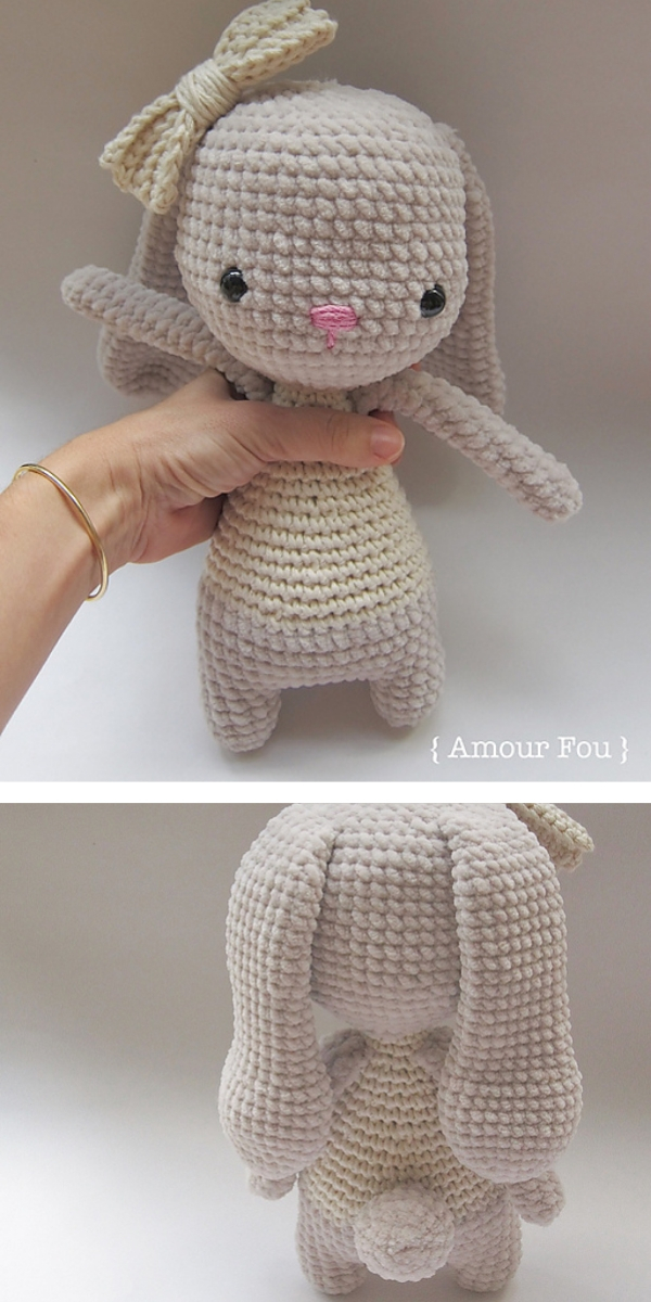 Bruna, the bunny free crochet pattern