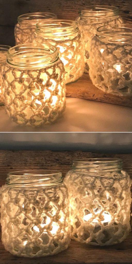 Cosy Jam Jar Covers