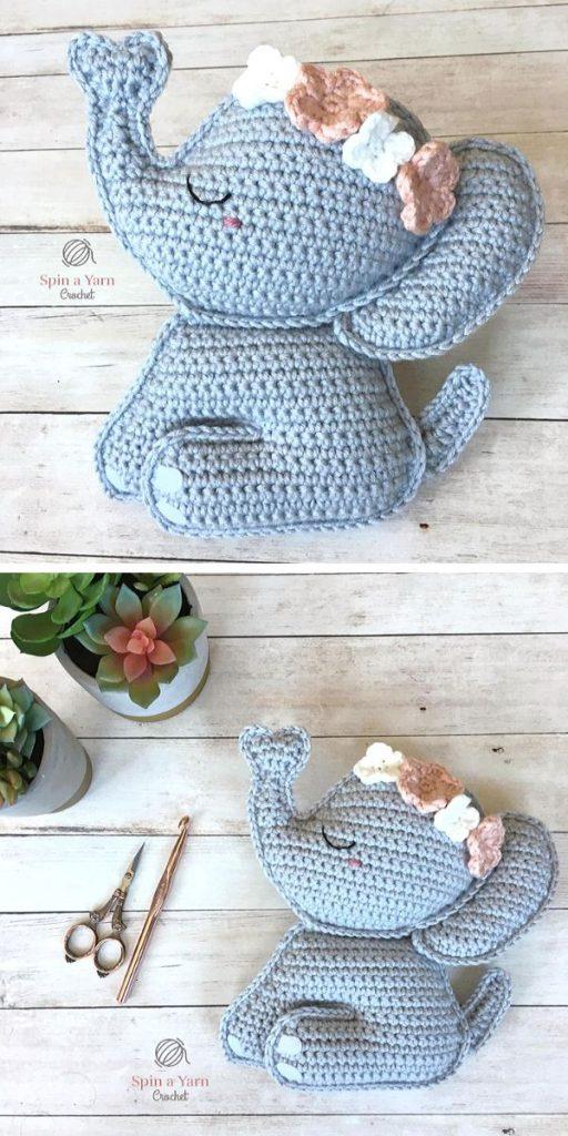 Elephant Amigurumi Free Crochet Pattern