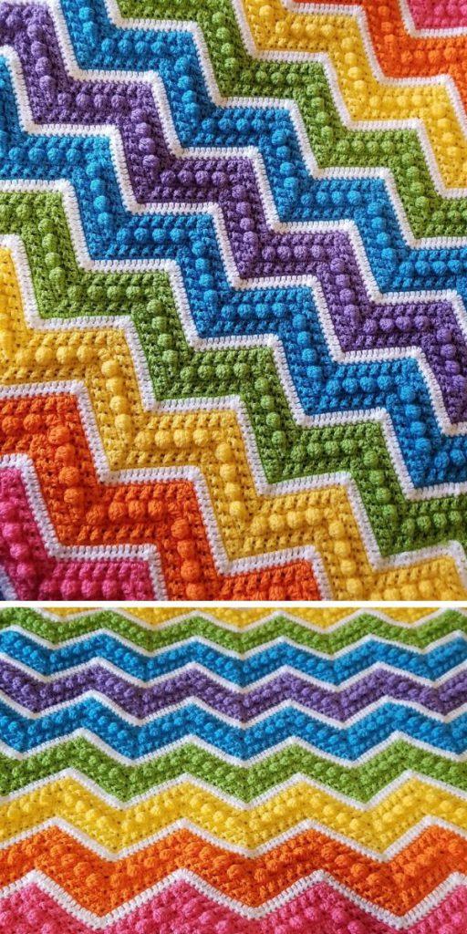 Hugs & Kisses Baby Blanket Free Crochet Pattern