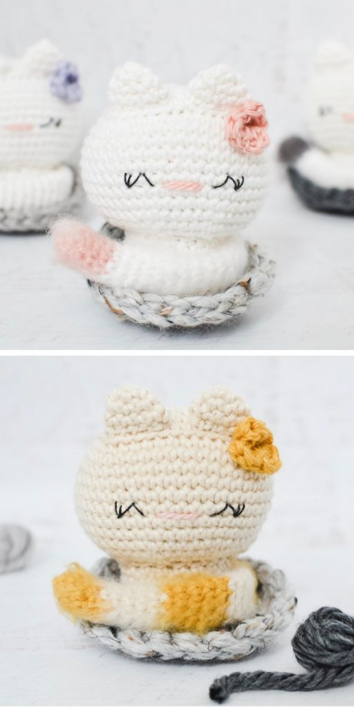 Kai the Kitty Free Crochet Pattern