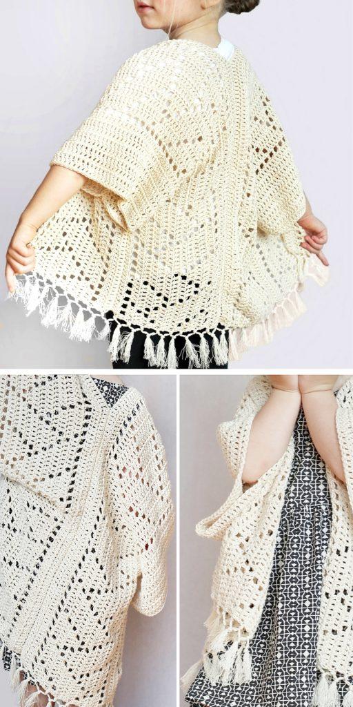 Kenzie-Kimono Crochet Pattern