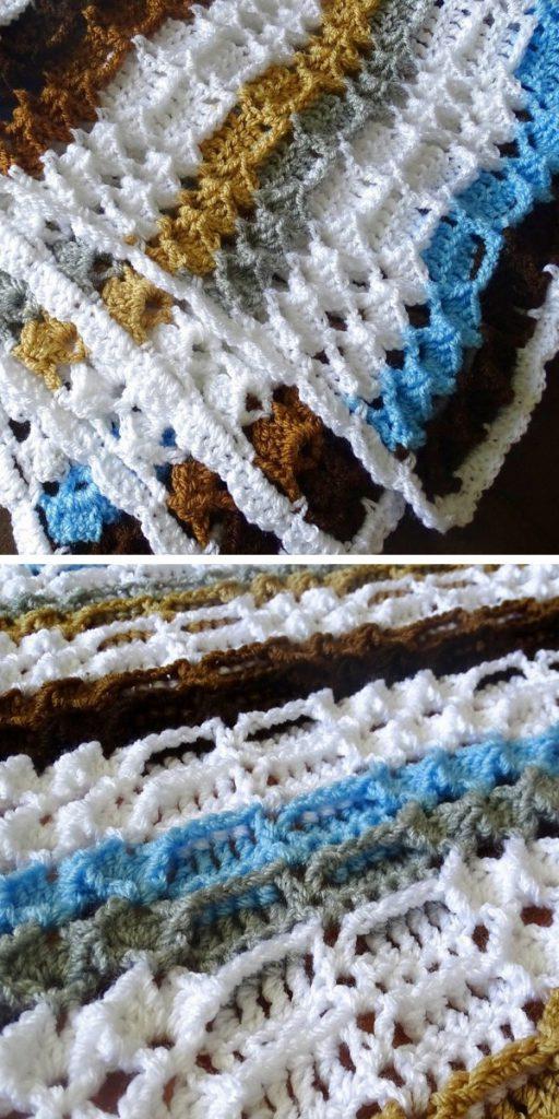 Marshmallow Baby Blanket Free Crochet Pattern