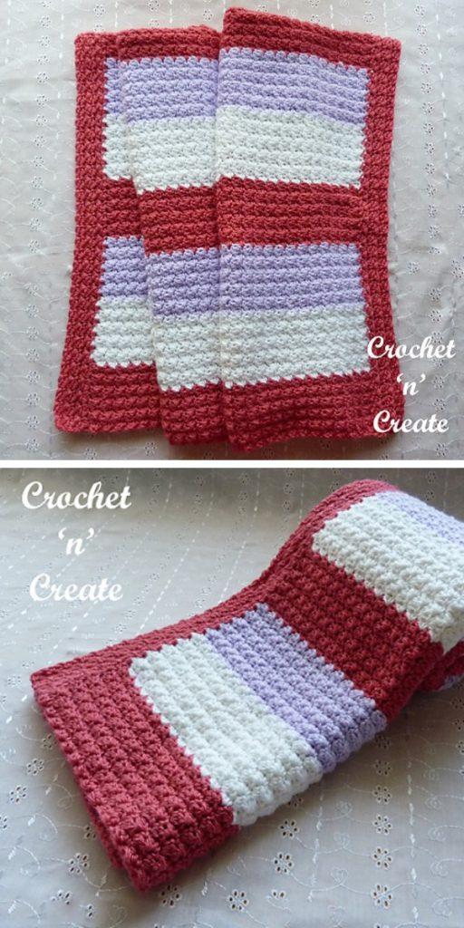Sedge Softee Lapghan Free Crochet Pattern