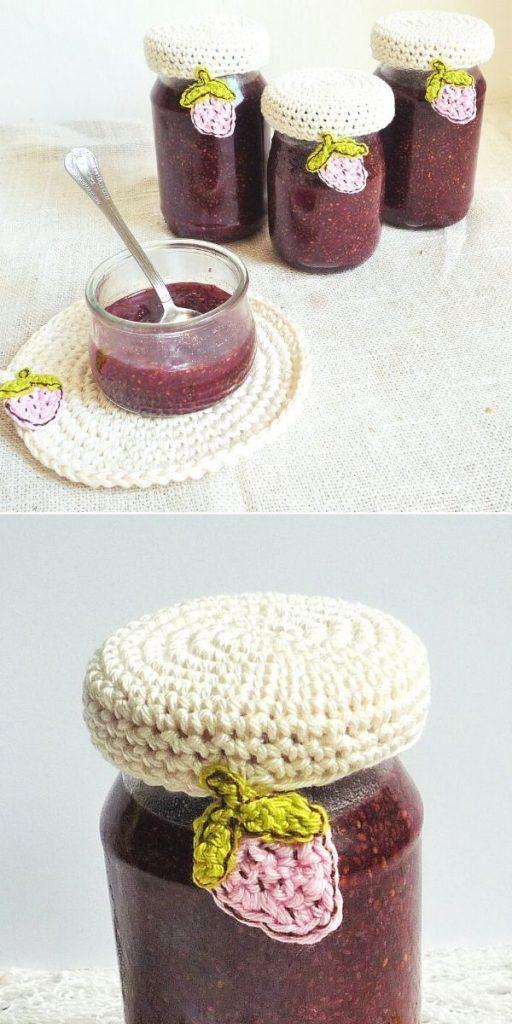 Strawberry Jar Cover