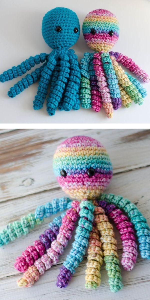 Octopus For Preemies Free Crochet Pattern