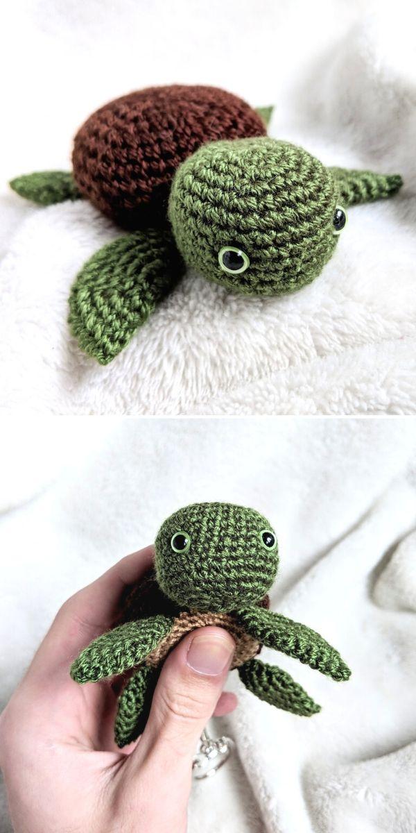 Baby Turtle Amigurumi