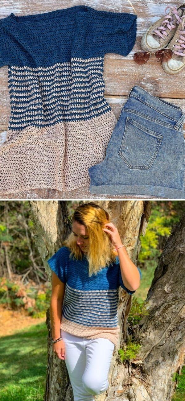 Beginner Crochet Tee