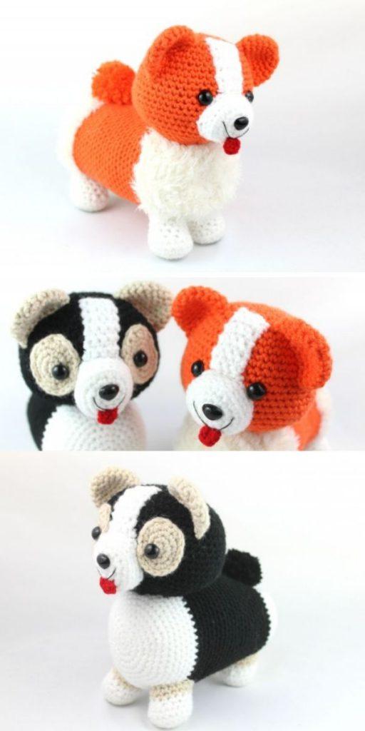 Corgi Amigurumi Dog Free Crochet Pattern