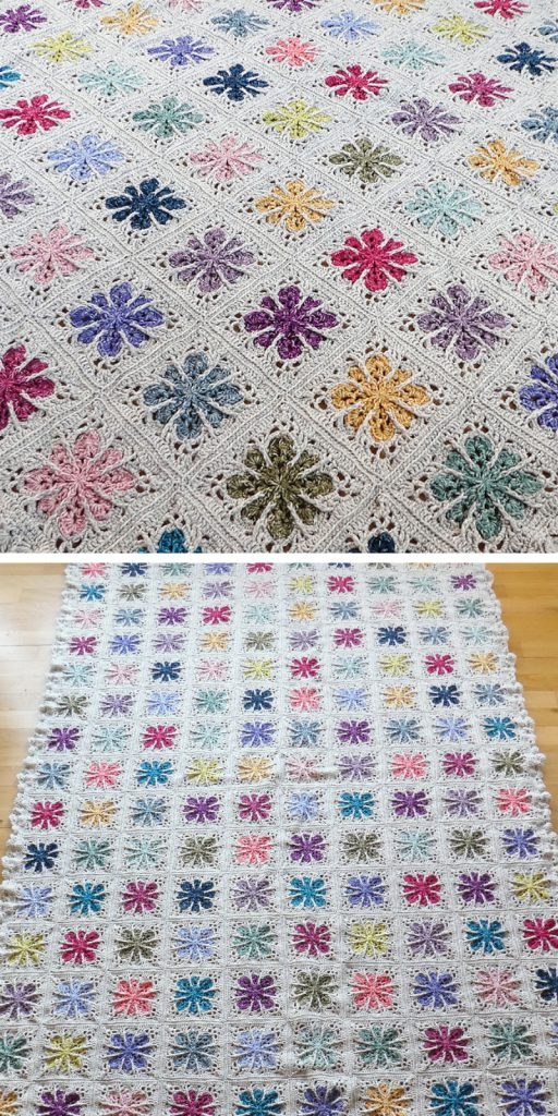 Field of Flowers Free Crochet Patterns