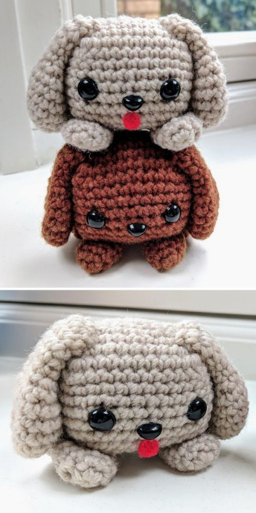 11 Amigurumi Dog Crochet Patterns – Cute Puppies - A More Crafty Life | 1024x512