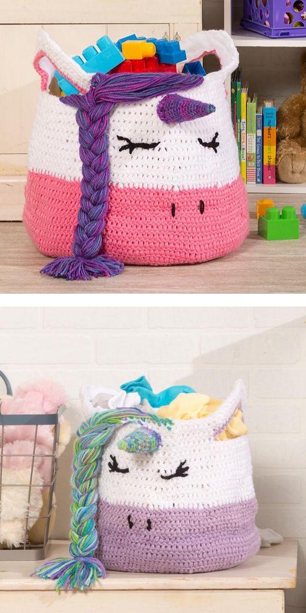 Free Crochet Pattern Funny Zig Zag Basket
