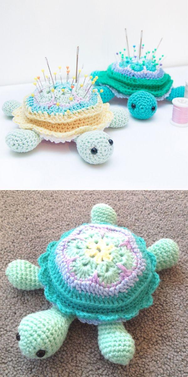 Tina Turtle Pincushion