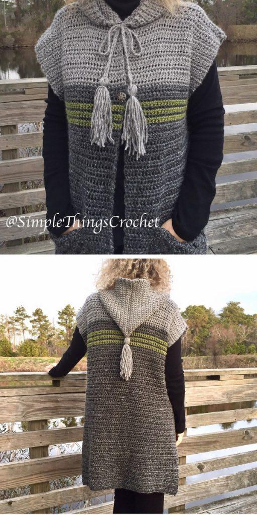comfy grey vest