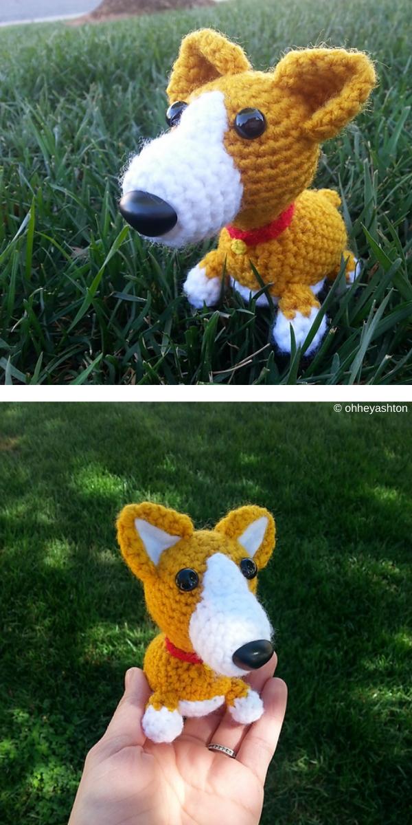 Amigurumi Corgi free crochet pattern