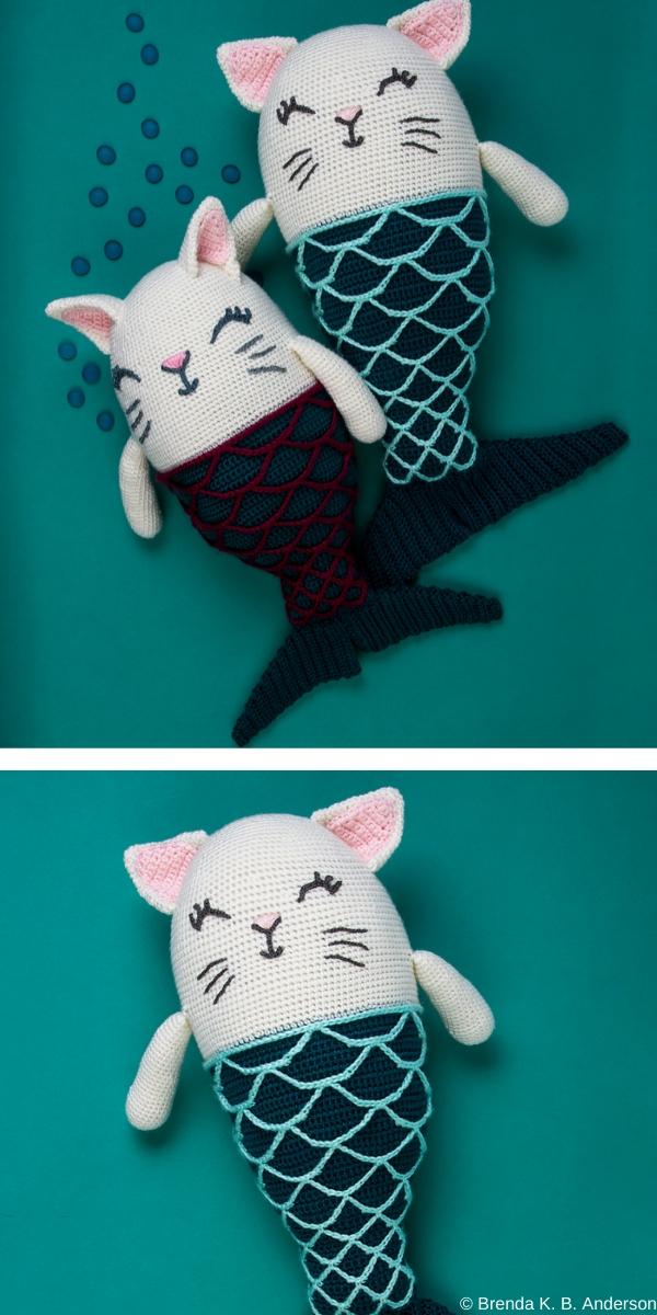 Catfish Purr-maid Free Crochet Pattern