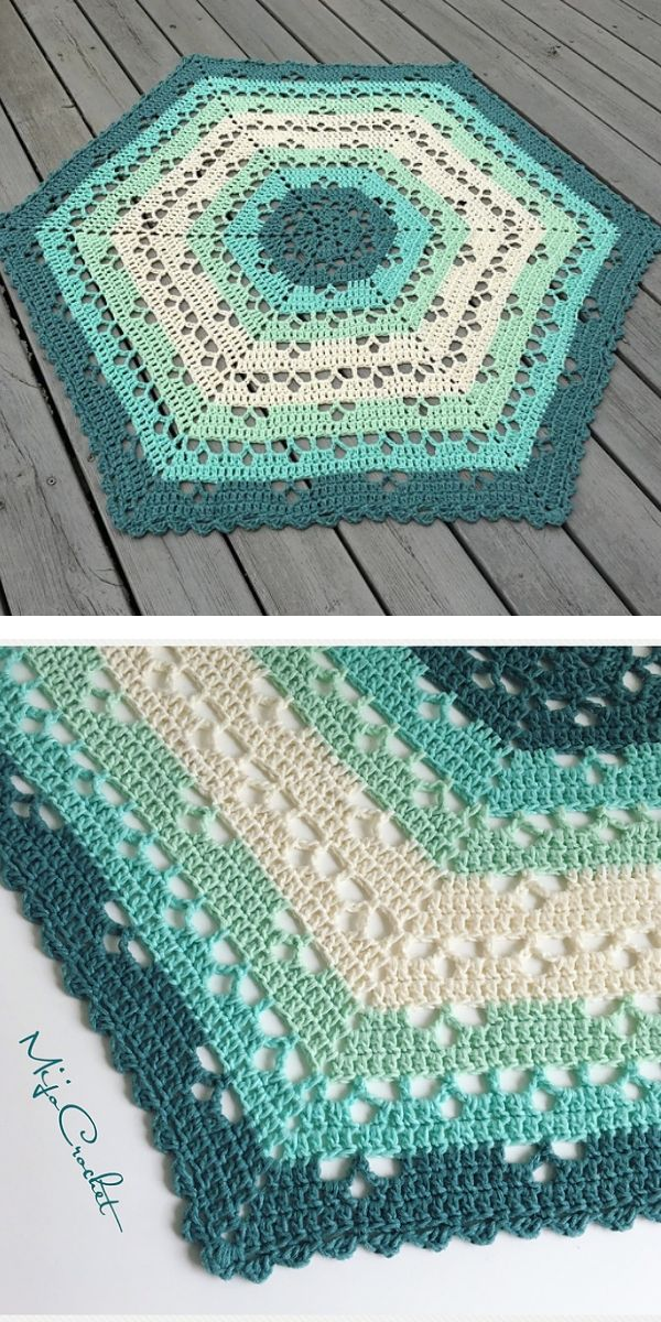 free crochet pattern: Cloudberry Blanket