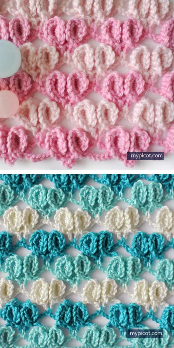 Crochet Heart Pattern free crochet pattern