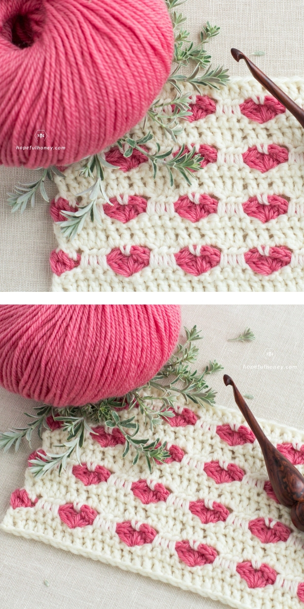 The Heart Stitch free crochet pattern