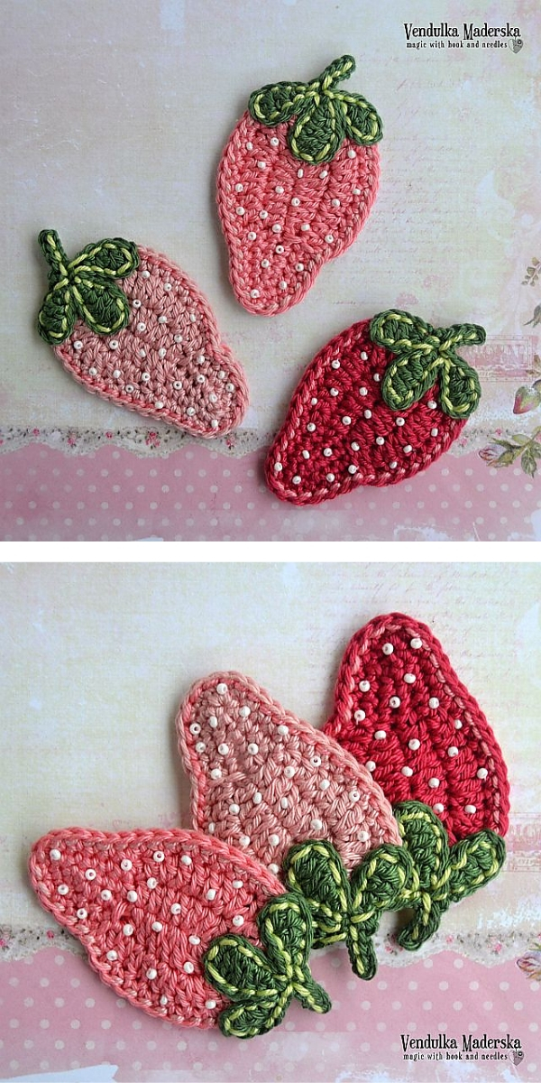 Sweet Strawbery Free Crochet Pattern