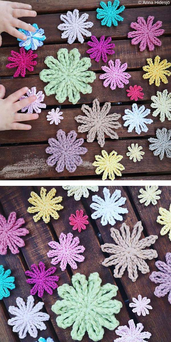 Spiderflower Free Crochet Pattern