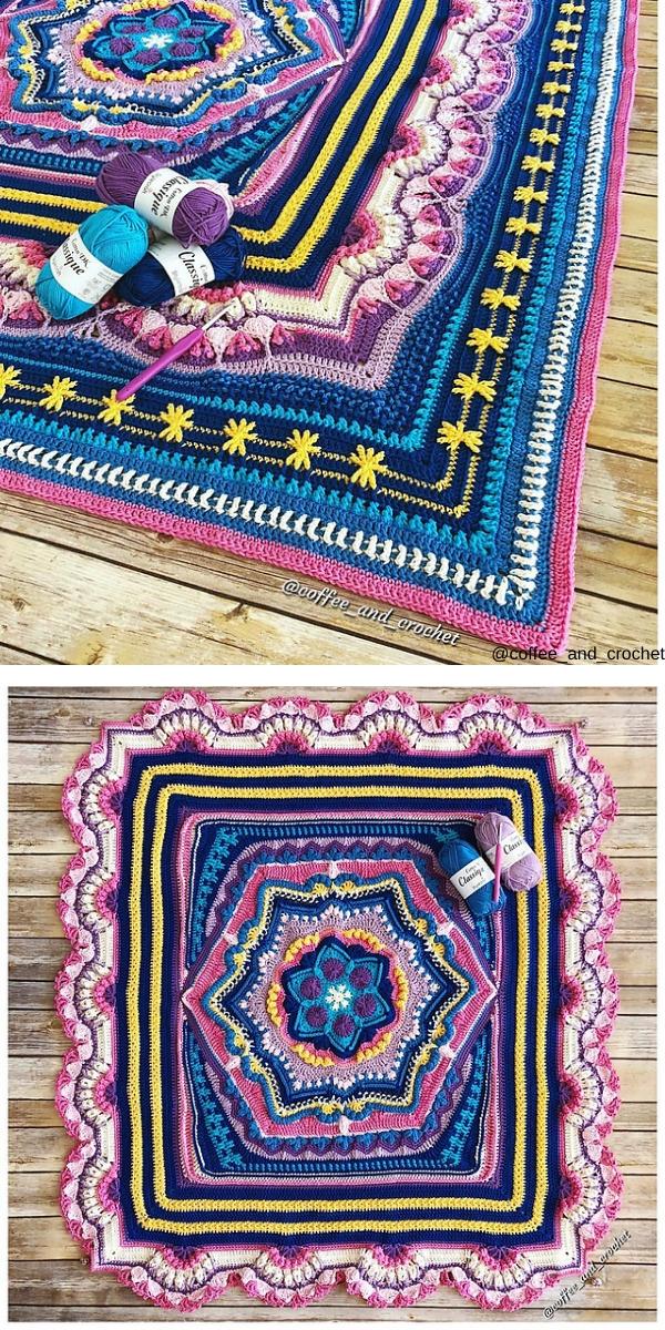 Cosmic CAL free crochet pattern