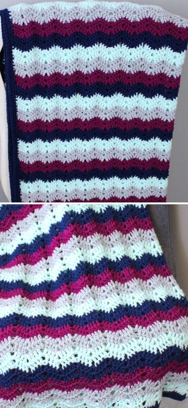 Chevy crochet blanket