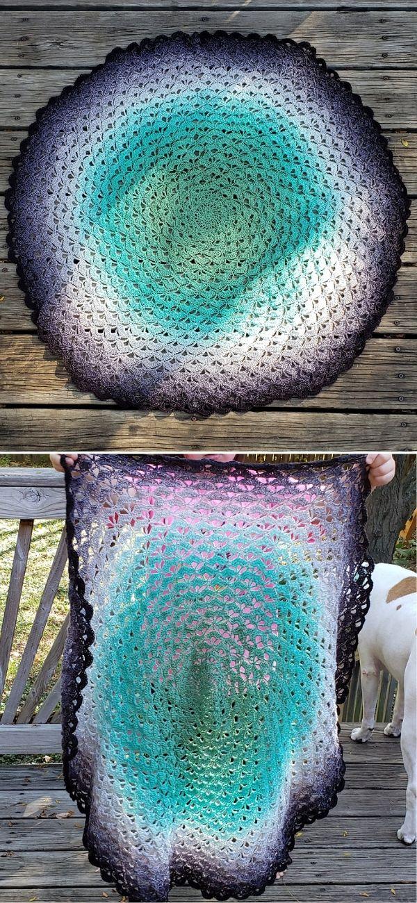 Lotus Flower Blanket 2
