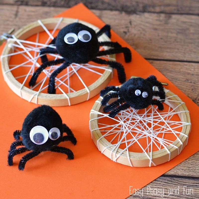 Amazing SPIDERS - Creepy crawly time