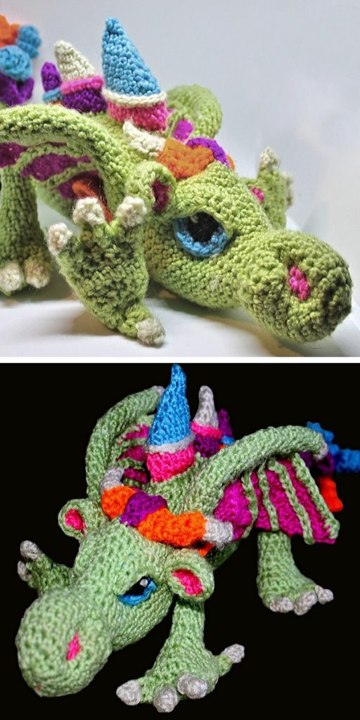 Baby's First Dragon Free Crochet Pattern