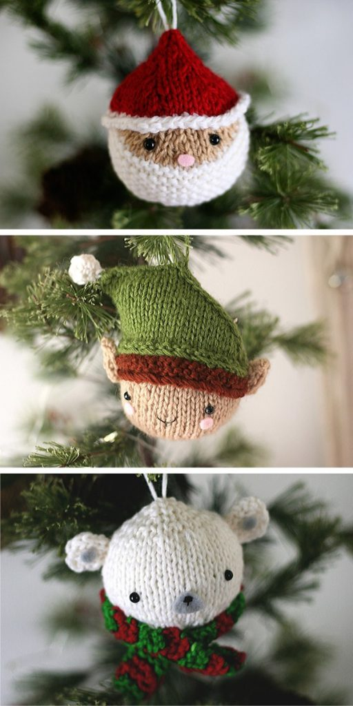 Christmas Balls Knitting Pattern